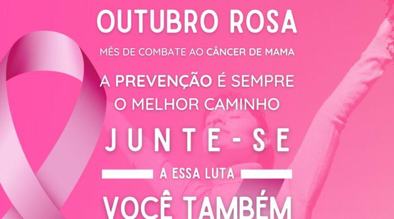Outubro Rosa | Mês de Combate ao Câncer de Mama